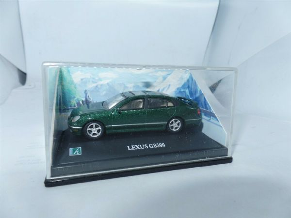 Cararama 1/72 Scale Lexus Gs300 Green Metallic